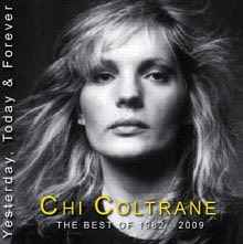 "Chi Coltrane: CD Cover ""Yesterday, Today & Forever"" (c) Chi Coltrane"