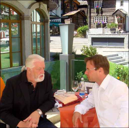 Jon Lord & Christian Dueblin-in Zermatt, Switzerland