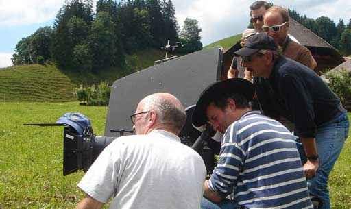 Xavier Koller mit Filmteam (c) Xavier Koller