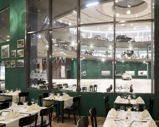 "Das Restaurant im ""Pantheon"" © Stephan Musfeld"
