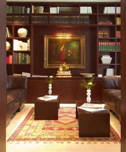 ALDEN Hotel Splügenschloss Bibliothek