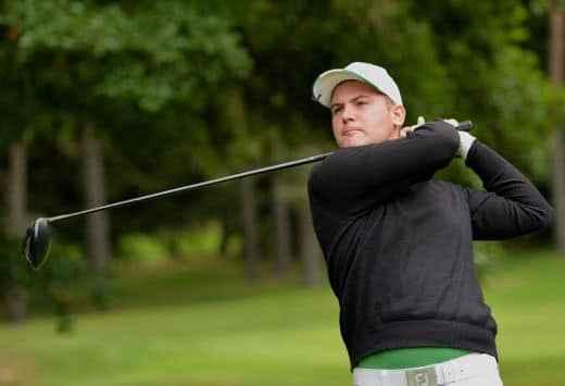 André Draslar: A perfect golf shot