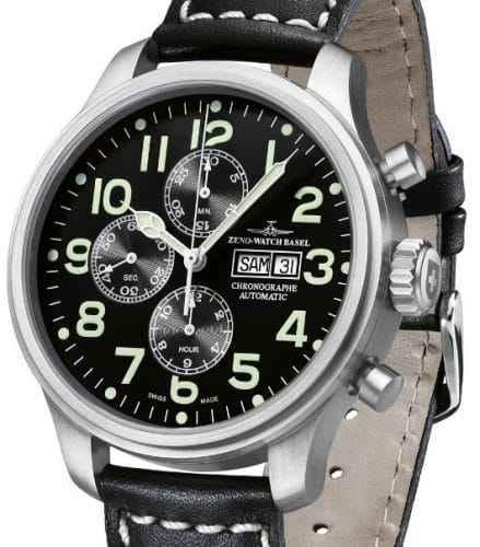 Patrik Philipp Huber: typische Uhr von ZENO Watch Basel
