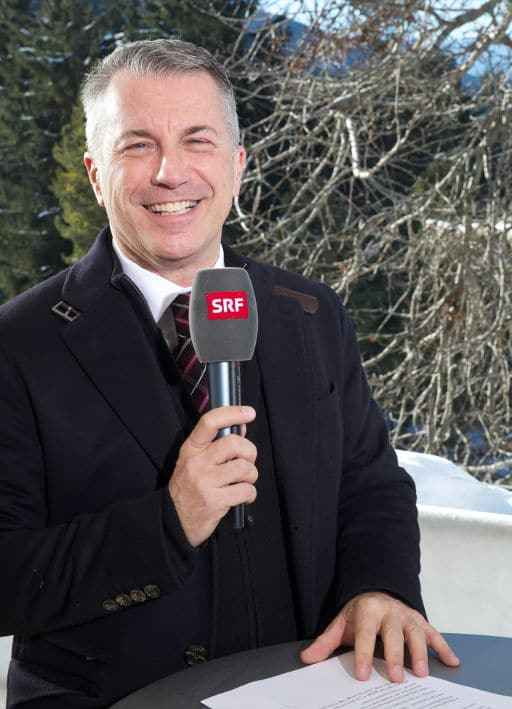 Reto Lipp am World Economic Forum (WEF) in Davos