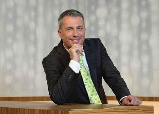 Reto Lipp, Moderator der Wirtschaftssendung ECO