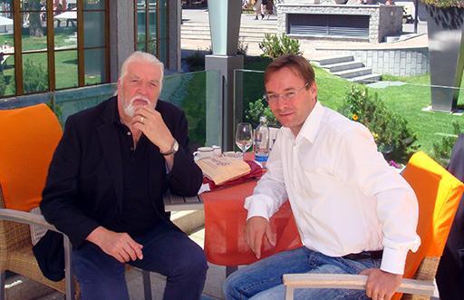 Christian Dueblin and Jon Lord