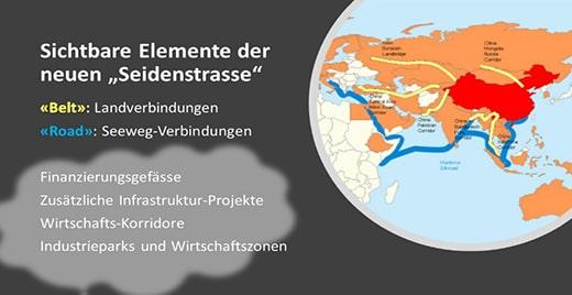 """The infrastructure projects on land and sea form the basis for further economic elements of """"Belt & Road"""""""