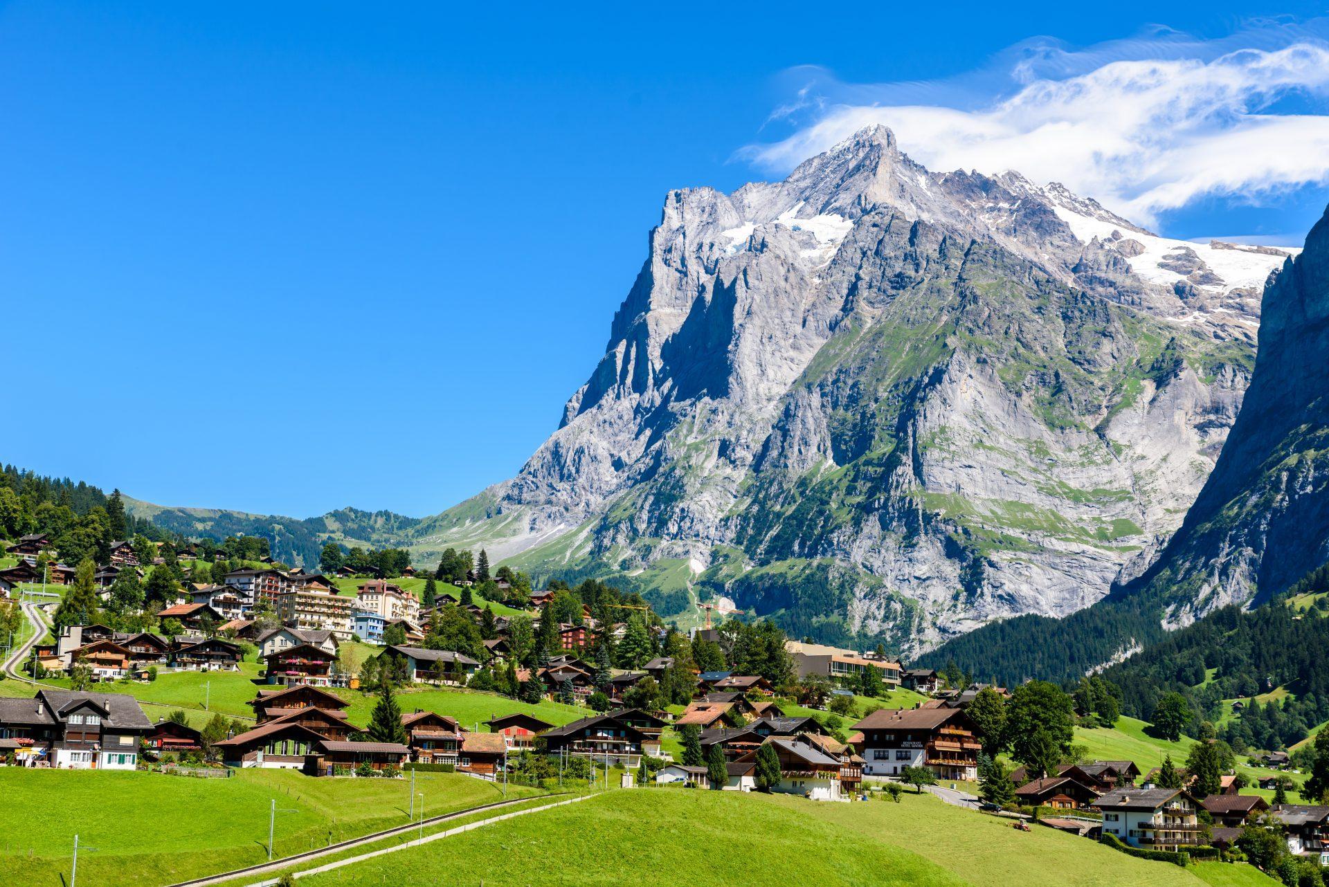 Grindelwald – Schweizer Bergdorf im Berner Oberland